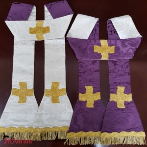 Two reversible stoles